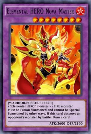Elemental HERO Nova Master