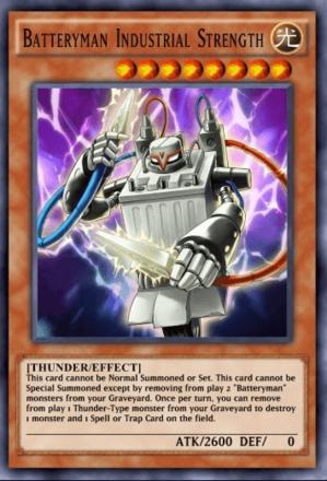Batteryman Industrial Strength