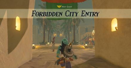 The Legend of Zelda Breath of the Wild (BotW) Forbidden City Entry.png