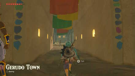 The Legend of Zelda Breath of the Wild (BotW) Entering Gerudo Town.jpg