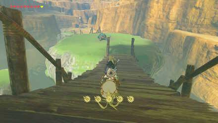 The Legend of Zelda Breath of the Wild (BotW) Passing Digdogg Bridge