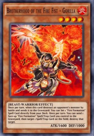 Broterhood of the Fire Fist - Gorilla