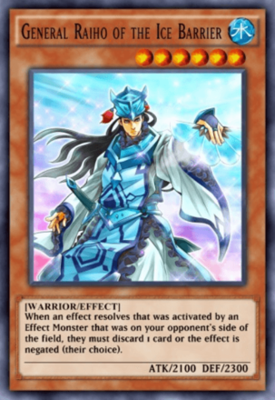 General Raiho of the Ice Barrier