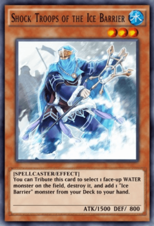 Shock Troops of the Ice Barrier