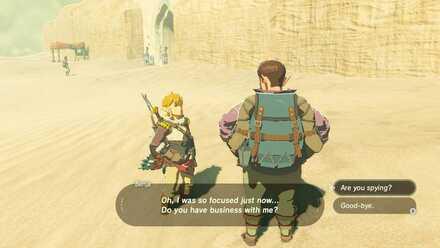 The Legend of Zelda Breath of the Wild (BotW) Benja