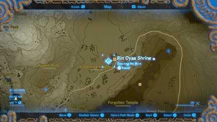 Rin Oyaa Map