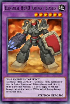 Elemental HERO Rampart Blaster