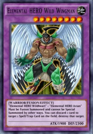 Elemental HERO Wild Wingman