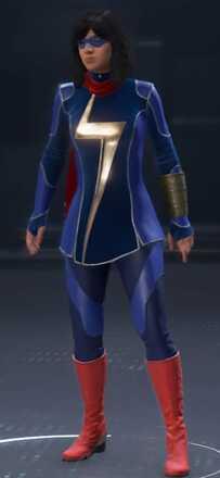 Ms. Marvel Blue Fathom