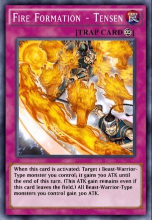 Fire Formation - Tensen