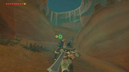 The Legend of Zelda Breath of the Wild (BotW) On the way to Yiga Clan Hideout