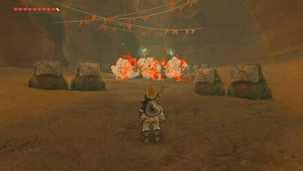 The Legend of Zelda Breath of the Wild (BotW) Yiga Footsoldiers Ambush
