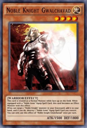 Noble Knight Gwalchavad