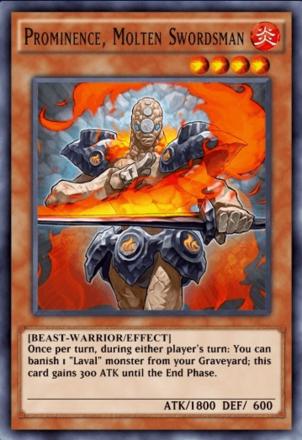 Prominence Molten Swordsman