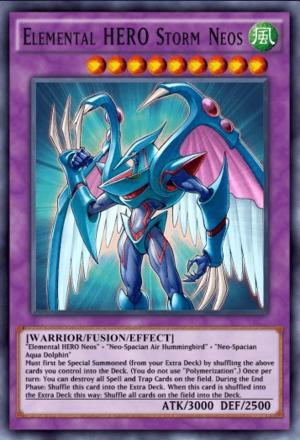 Elemental HERO Storm Neos