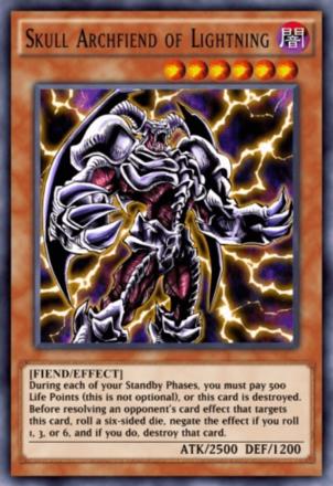 Skull Archfiend of Lightning