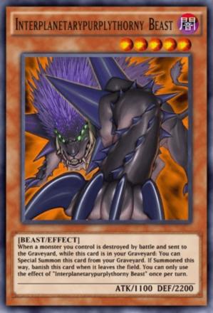 Interplanetarypurplythorny Beast