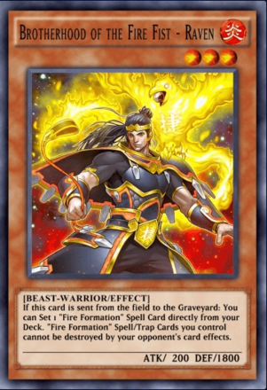 Brotherhood of the Fire Fist - Raven