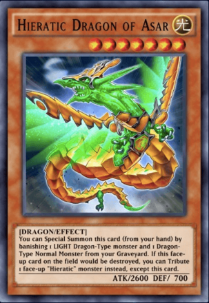 Hieratic Dragon of Asar