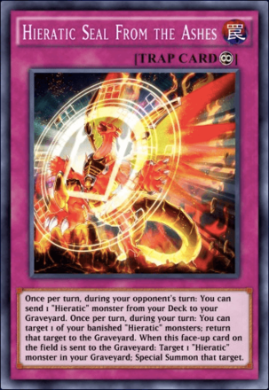 Hieratic Seal From the Ashes