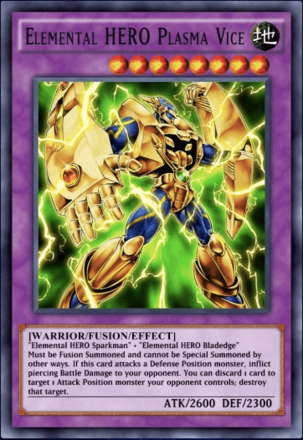 Elemental HERO Plasma Vice