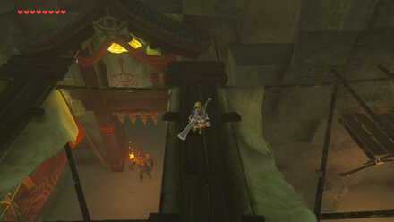 The Legend of Zelda Breath of the Wild (BotW) Arch to next room