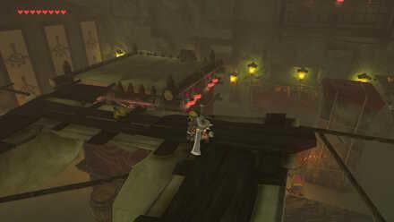 The Legend of Zelda Breath of the Wild (BotW) Treasure Chest on Roof