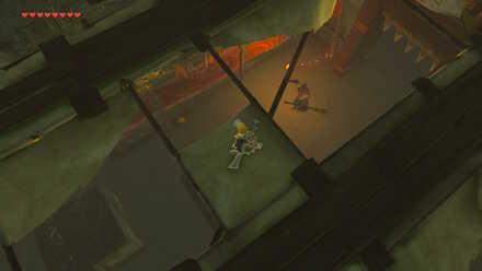 The Legend of Zelda Breath of the Wild (BotW) Distracting the Yiga Blademaster