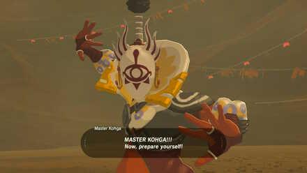 The Legend of Zelda Breath of the Wild (BotW) Master Kohga