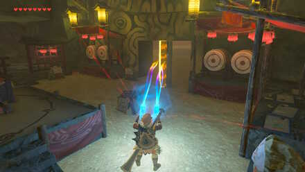 The Legend of Zelda Breath of the Wild (BotW) Revealing secret door