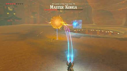 The Legend of Zelda Breath of the Wild (BotW) Master Kohga Metal Spike Ball.jpg