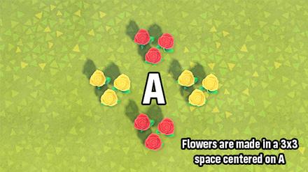 ACNH - 3x3 Flower Breeding Layout size:440x247
