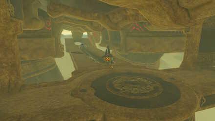 The Legend of Zelda Breath of the Wild (BotW) Vah Naboris Entrance