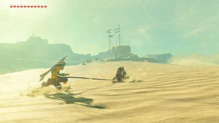 The Legend of Zelda Breath of the Wild (BotW) To Gerudo Lookout Post