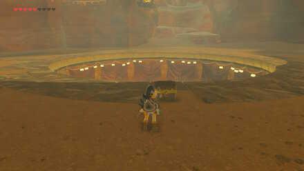 The Legend of Zelda Breath of the Wild (BotW) Thunder Helm in Treasure Chest