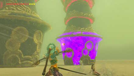 The Legend of Zelda Breath of the Wild (BotW) Shooting Vah Naboris