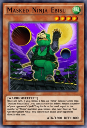 Masked Ninja Ebisu