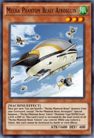 Mecha Phantom Beast Aerosguin