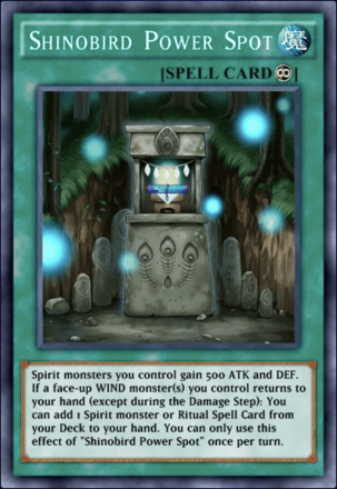 Shinobird Power Spot