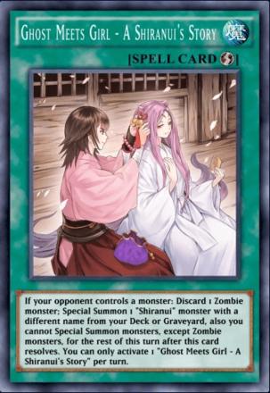Ghost Meets Girl - A Shiranui