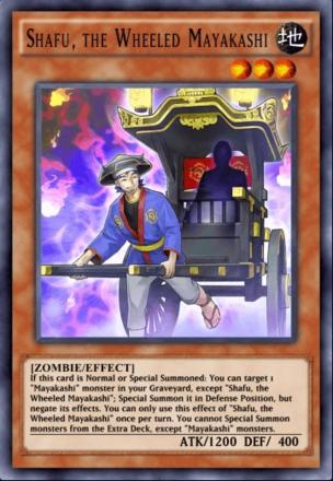 Shafu the Wheeled Mayakashi