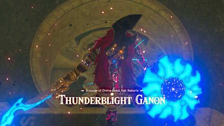 The Legend of Zelda Breath of the Wild (BotW) Thunderblight Ganon