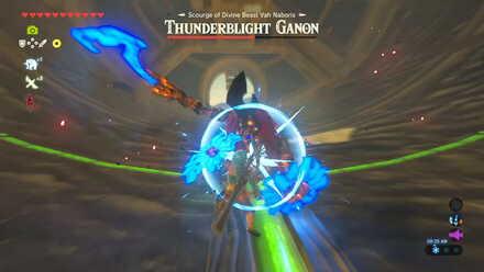 The Legend of Zelda Breath of the Wild (BotW) Parry Thunderblight Ganon