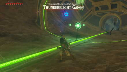 The Legend of Zelda Breath of the Wild (BotW) Thunderblight Ganon Three Electric Balls.jpg