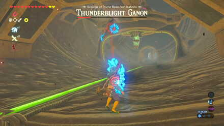 The Legend of Zelda Breath of the Wild (BotW) Thunderblight Ganon Laser.jpg
