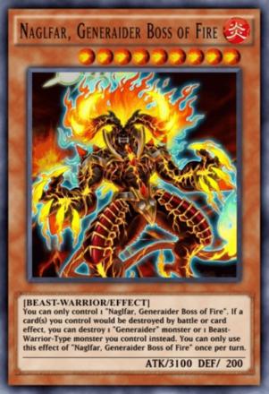 Naglfar Generaider Boss of Fire