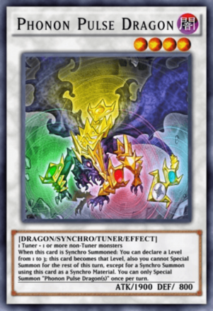 Phonon Pulse Dragon