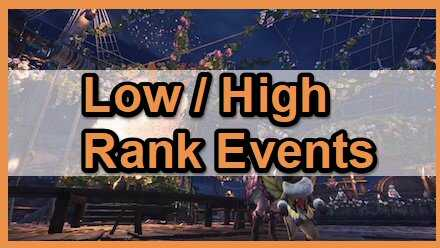 Low high rank events