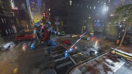 Captain America Build