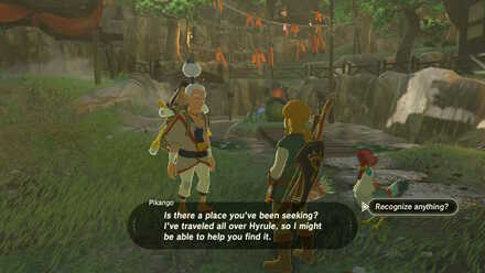 The Legend of Zelda Breath of the Wild (BotW) Pikango helps with memory locations.jpg